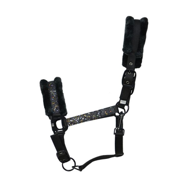 Picture of Hy Dazzle Headcollar Black Sparkle