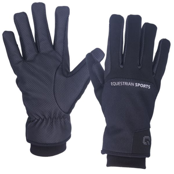 Picture of QHP Siberie Waterproof Glove Black