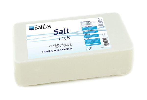 Picture of Battles Salt Lick Iodised Garlic Flavour