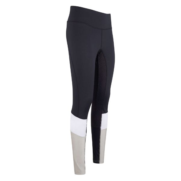 Picture of Euro Star Sofia Riding Breeches Full Grip Black
