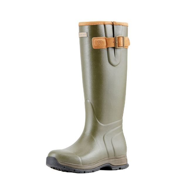Picture of Ariat Women's Burford Insulated Olive Green