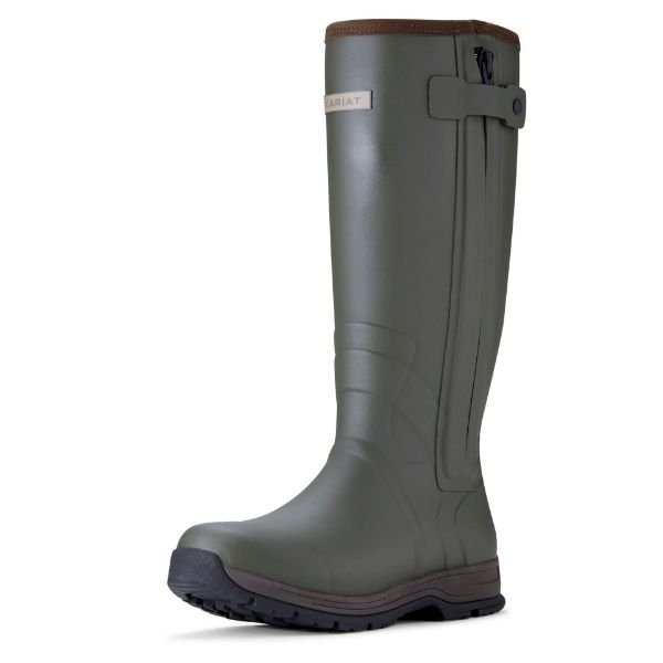 Picture of Ariat Mens Insulated Burford Zip Olive Green