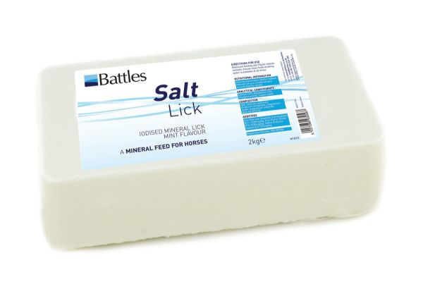 Picture of Battles Salt Lick Mint Iodised Mineral