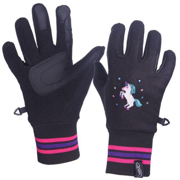Picture of QHP Hidalgo Glove Black
