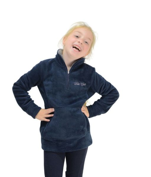 Picture of HY Nina Fleece Litte Rider Navy/Royal Blue