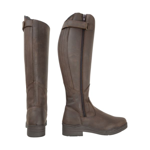 Picture of HyLAND Londonderry Winter Country Riding Boots Dark Brown