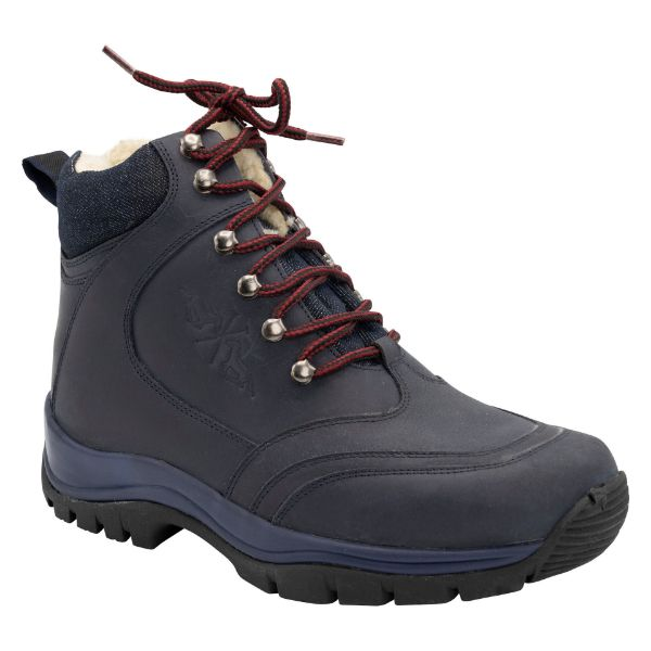 Picture of HV Polo Mick Stable Boot Navy