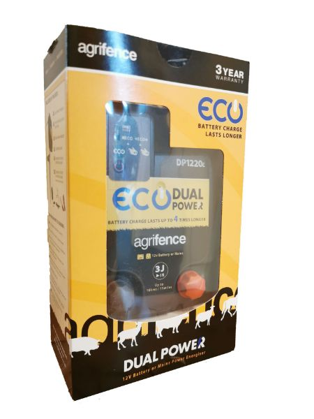 Picture of Agrifence DP1220e Energiser Dual Power Eco 3J