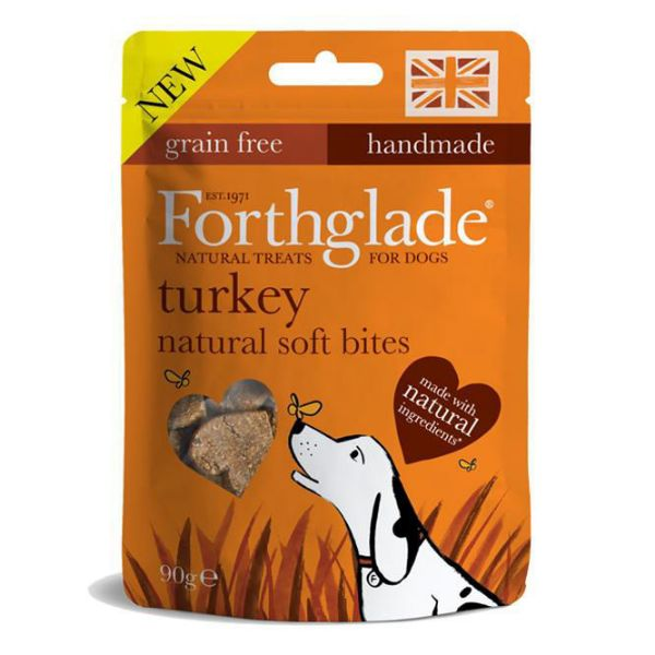 Picture of Forthglade Natural Soft Bites Turkey 90g
