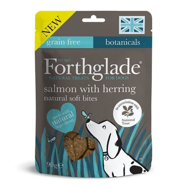 Picture of Forthglade National Trust Soft Bites Salmon & Herring 90g