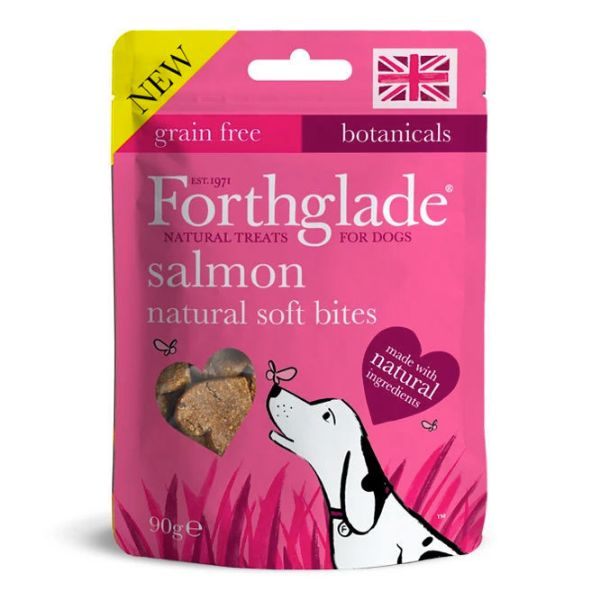 Picture of Forthglade Natural Soft Bites Salmon 90g