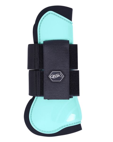 Picture of QHP Tendon Boots Ice Green