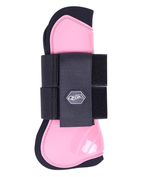 Picture of QHP Tendon Boots Flamingo Pink