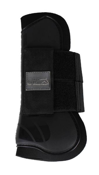 Picture of QHP Tendon Boots Black