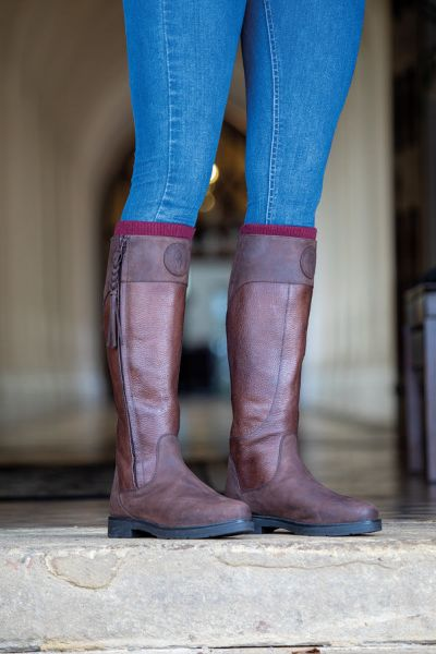 Picture of Shires Moretta Pamina Country Boots Brown