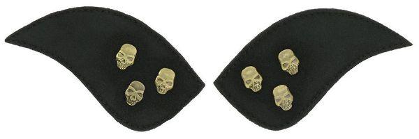 Picture of Equi Theme My Primera Velco Attachment 3 Metal Skulls