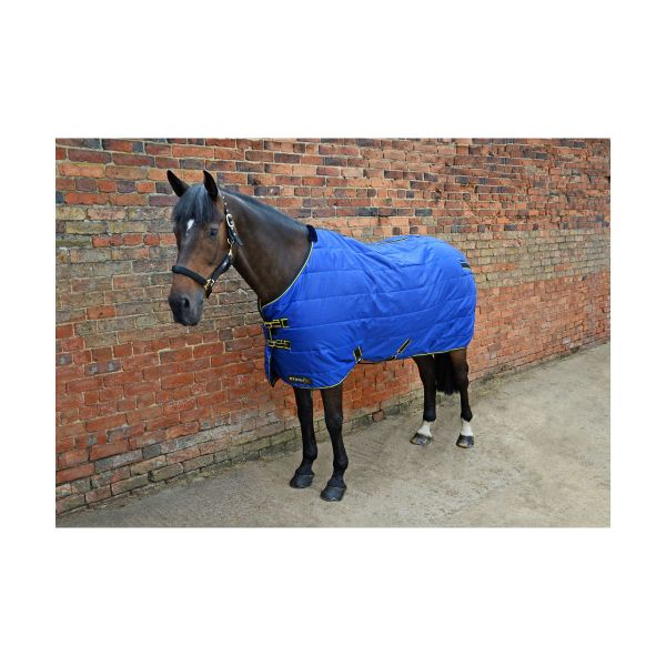 Picture of StormX Original Stable Rug 100g Royal Blue/Navy/Yellow