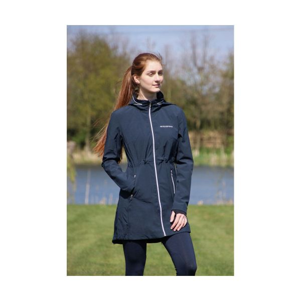 Picture of Hy Equestrian Synergy Long Rain Coat Navy