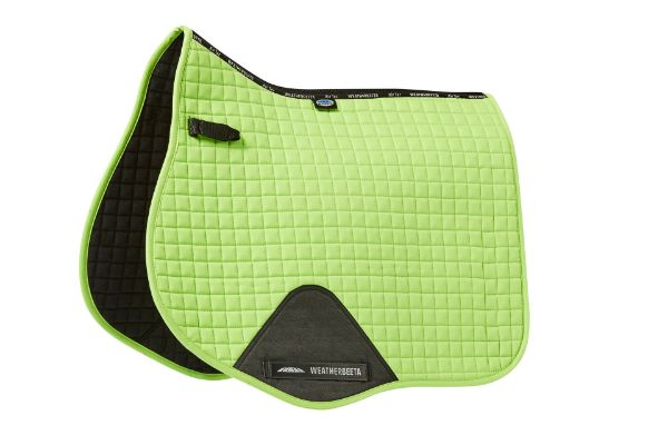 Picture of Weatherbeeta Prime All Purpose Saddle Pad Lime Green Full