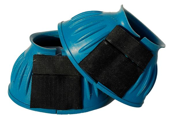 Picture of Rhinegold Velcro Over Reach Boots Turquoise
