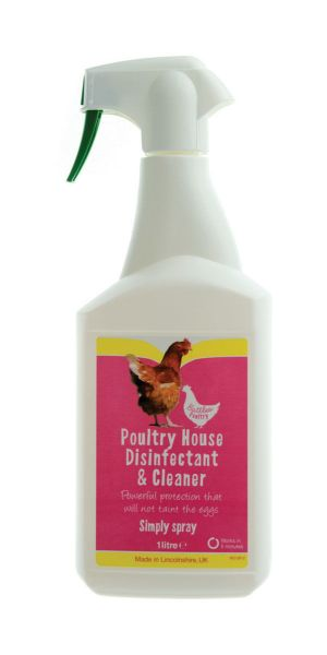 Picture of Battles Poultry House Disinfectant & Cleaner Spray 1L