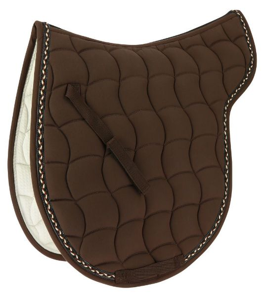 Picture of Equi Theme Numnah Hunter Pad Chocolate Full