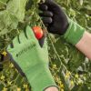 Picture of Smart Garden Briers Bamboo Grip Gloves Green/Black