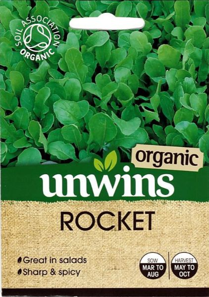 Picture of Unwins Rocket (Organic) Seeds