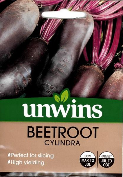 Picture of Unwins Beetroot Cylindra Seeds