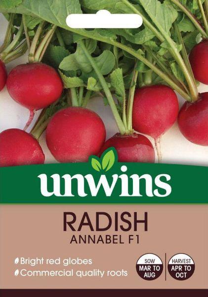 Picture of Unwins Radish Annabel F1 Seeds