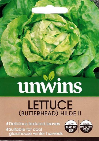 Picture of Unwins Lettuce (Butterhead) Hilde II Seeds