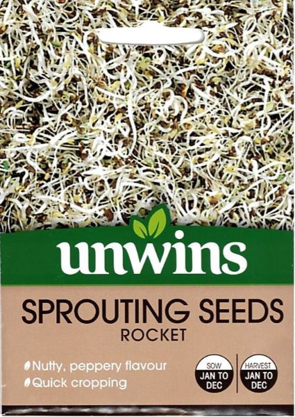 Picture of Unwins Sprouting Seeds Rocket Seeds