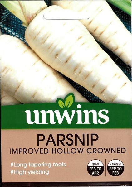 Picture of Unwins Parsnip Improved Hollow Crowned Seeds