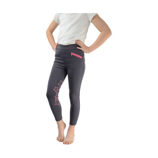 Picture of Hy Equestrian Childrens Stella Tight Grey/Pink