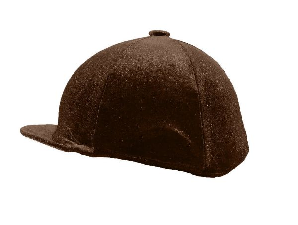 Picture of Spartan Velour Hat Covers Brown