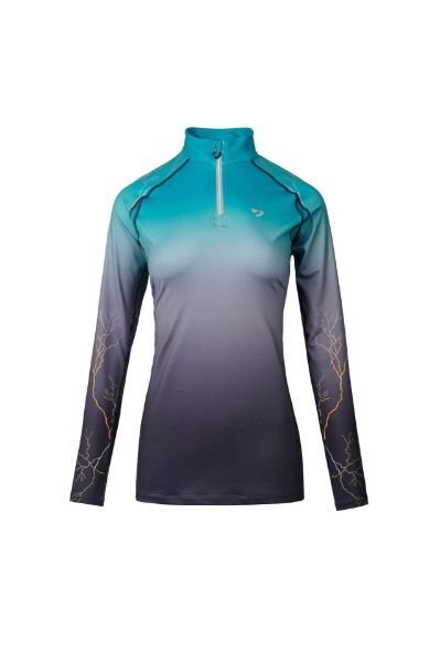 Picture of Aubrion Hyde Park Maids XC Shirt Teal Lightening