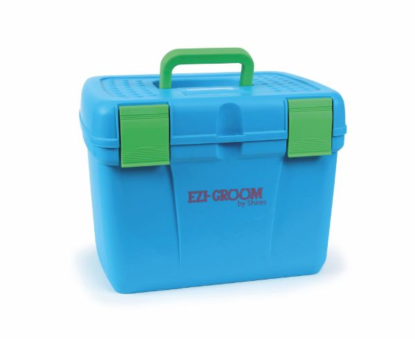 Picture of Shires Deluxe Grooming Box Bright Blue