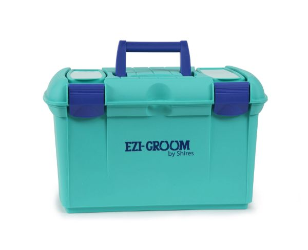 Picture of Shires Ezi-Groom Two Toned Tack Box Sea Green