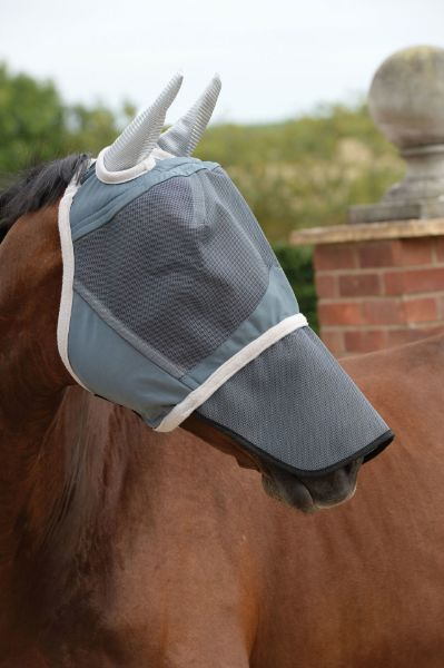 Picture of Weatherbeeta Deluxe Fly Mask With Nose