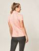 Picture of Dublin Maddison Short Sleeve Technical Airflow 1/4 Zip Top Salmon Orange