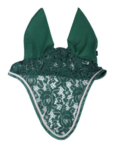 Picture of QHP Ear Net Sevilla Emerald Pony