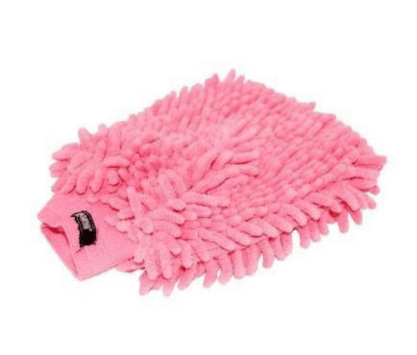 Picture of Roma Microfibre Wash Mitt Pink