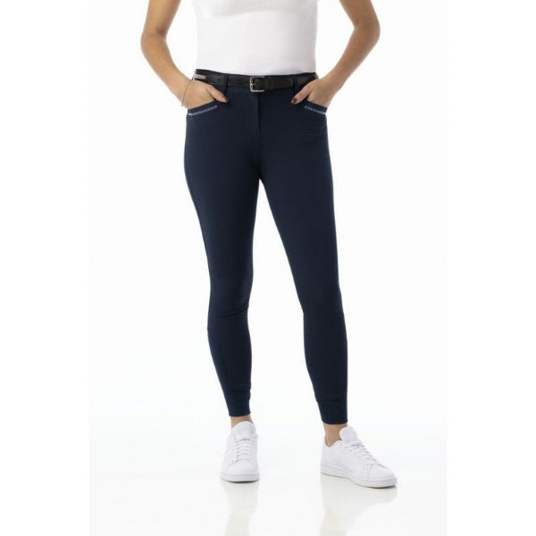 Picture of Equi Theme Gizel Breeches Navy
