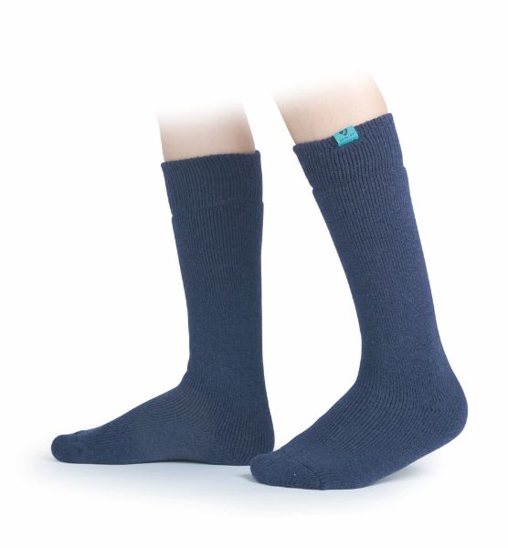 Picture of Aubrion Adult Colliers Boot Socks Navy