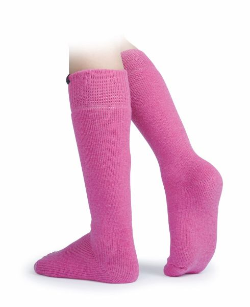 Picture of Aubrion Adult Colliers Boot Socks Pink