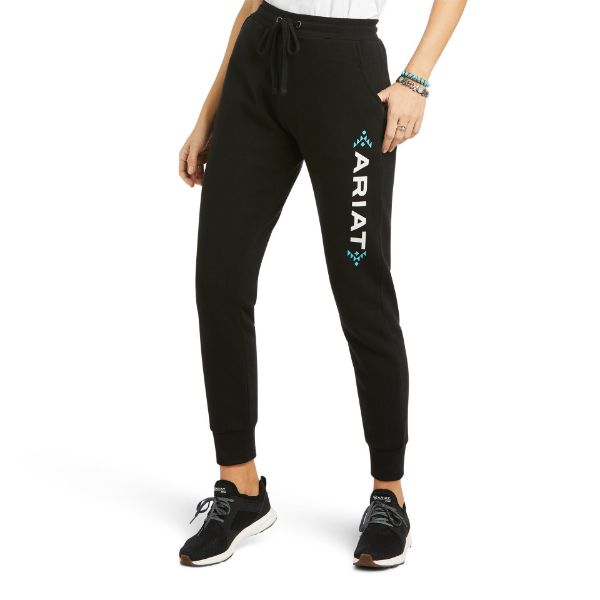 Picture of Ariat Real Jogger Sweatpants Black
